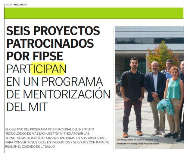 Seis proyectos patrocinados por FIPSE participan en un programa de mentorización del MIT